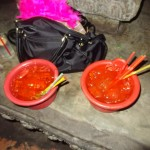 buckets at Temple Bar - siem reap