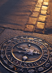 Freedom Trail in Boston