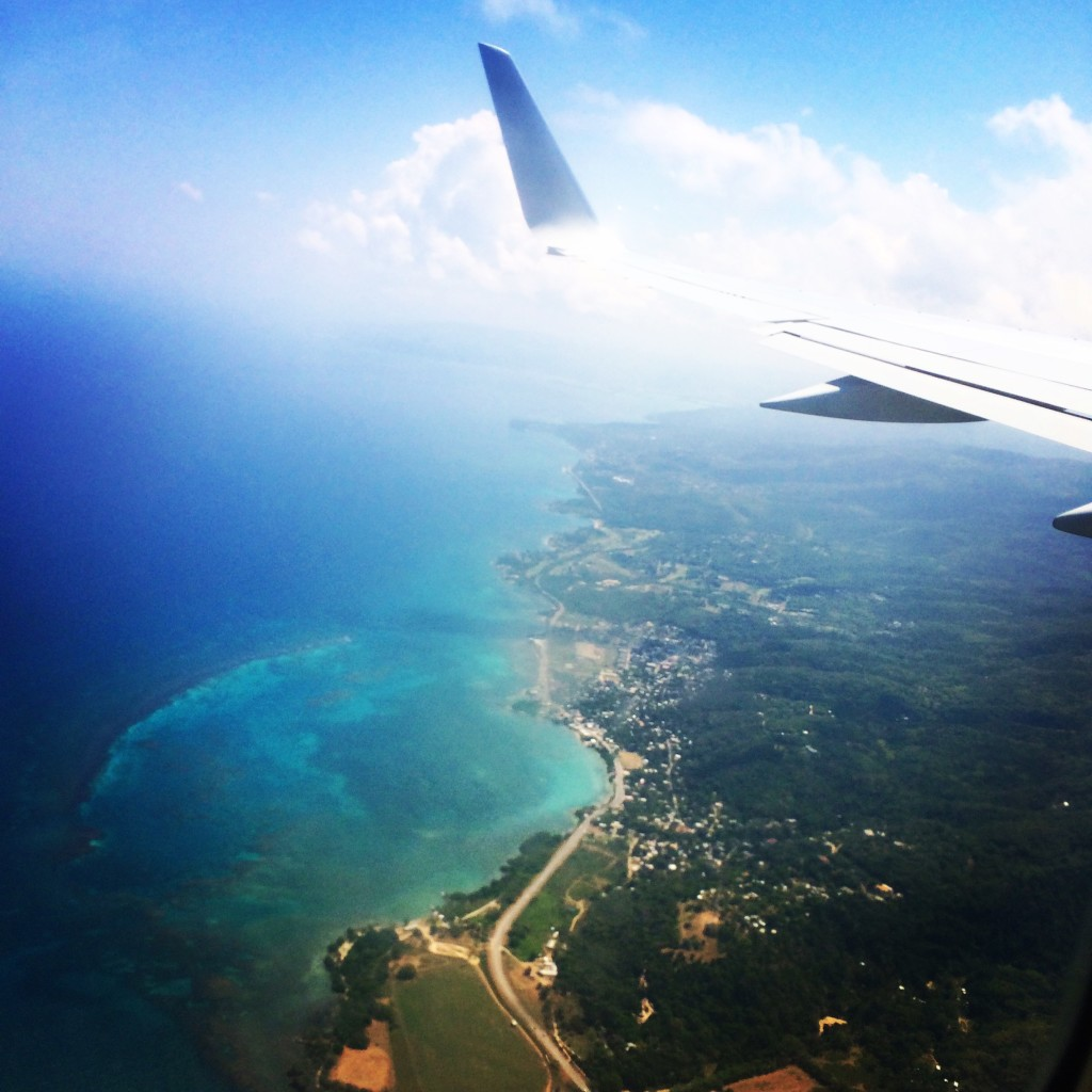 landing in Montego Bay Jamaica