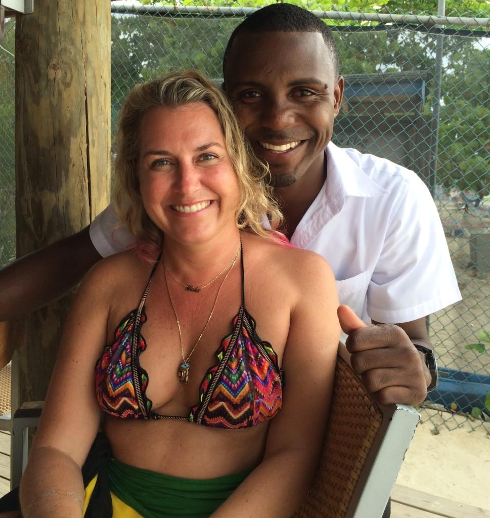 Sandy Haven staff member Jamaica
