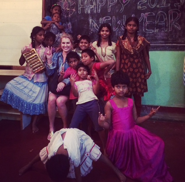Girls of Ashanilaya Orphanage India