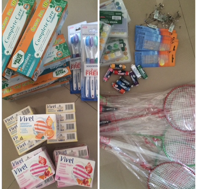 Orphanage supplies India