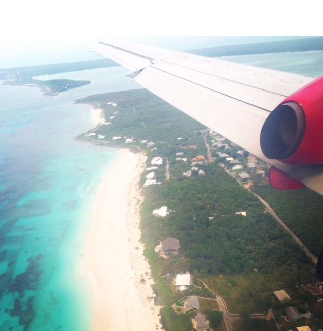 aerial harbor island