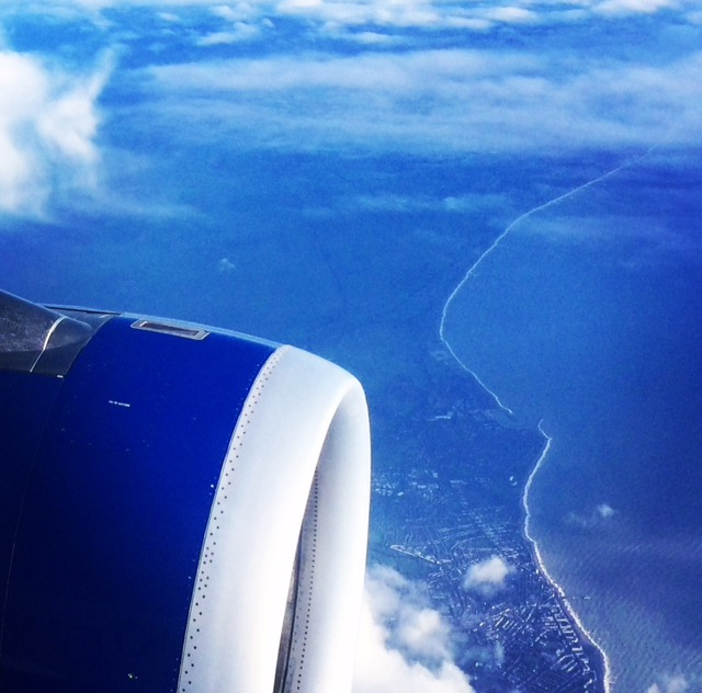 aerial english channel