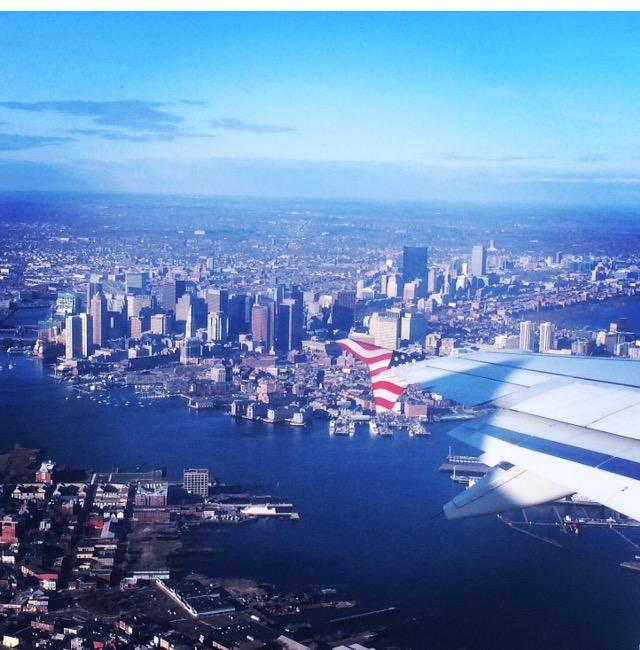 aerial boston